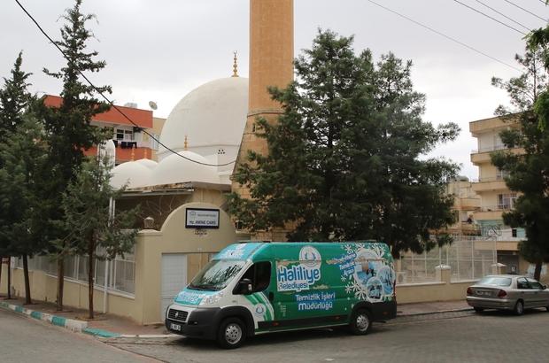 Haliliye'deki ibadethaneler Ramazan'a hazırlanıyor