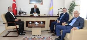 MHP İl Başkanı Mehmet Karagöz ilk ziyaretini ESOB'a gerçekleştirdi