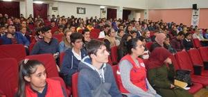 Gençlik Merkezi okul temsilcileri ile bir araya geldi