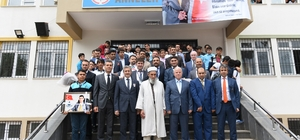 Başkan Tahmazoğlu, Şehit Kaymakamı anma programına katıldı