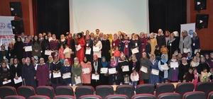 0-18 yaş aile eğitimi sertifika töreni yapıldı