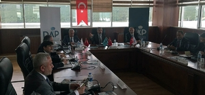 Rektör Çomaklı, ÜNİDAP istişare toplantısına katıldı