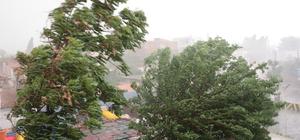 Şanlıurfa'da fırtına ve sağanak etkili oldu