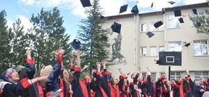 Ilgaz'da mezuniyet heyecanı
