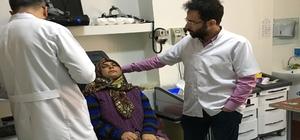 Şanlıurfa'da kapalı gözyaşı kesesi ameliyatı yapıldı