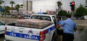 Kozan'da sağlık koşullarda üretilen ekmeklere zabıta el koydu