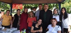 Başkan Haluk Alıcık, NEBED'in kermesine katıldı