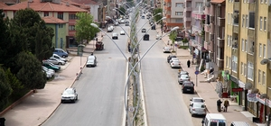 Karasu Plaj Caddesindeki çalışmalar sona erdi