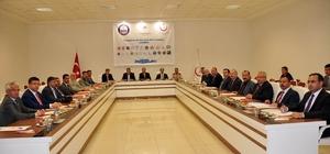Karaman'da Uyuşturucu ile Mücadele Koordinasyon Kurulu toplandı