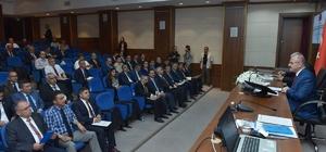 İl Su Yönetimi Koordinasyon Kurulu, Vali Çakacak başkanlığında toplandı