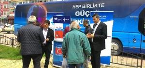 İŞKUR kampanya otobüsü Beyşehir'de