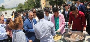 Samandağ Atatürk Anadolu Lisesi'nde Pilav Günü etkinliği