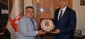 POMEM Müdürü Günbey'den Başkan Yağcı'ya ziyaret