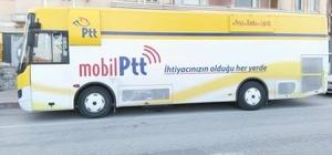 Mobilize PTT aracı Bayırköy'de hizmete girdi