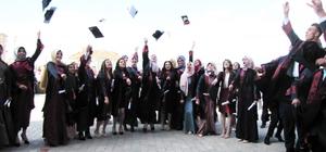 Hisarcık 15 Temmuz Demokrasi Şehitleri Anadolu Lisesinde mezuniyet coşkusu