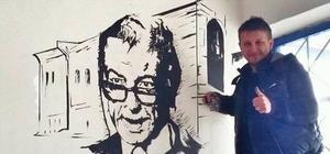 'Hababam Sınıfı' karakterleri okulun duvarlarını süslüyor