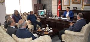 Er-bay-der'den Başkan Bakıcı'ya teşekkür ziyareti
