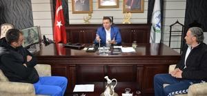 Başkan Bakıcı Türkiye Dart Şampiyonası'na katılacak sporculara başarılar diledi