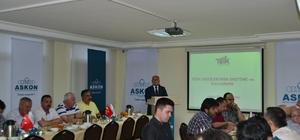 TÜİK, ASKON üyelerine TÜİK verilerinin üretimi ve kullanımı hakkında bilgi verdi