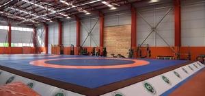 üzce güreş salonu açılıyor
