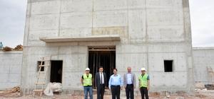 Aksaray Belediyesi, Laleli Mahallesine 5 bin metreküplük dev su deposu yapıyor