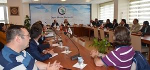 Düzce Üniversitesinin enstitüleri değerlendirildi