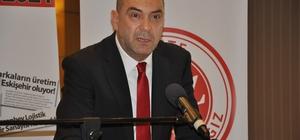 Sanayi Odası başkanlığına aday olan Celalettin Kesikbaş projelerini anlattı