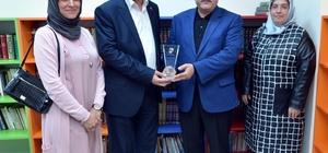 Esma Biltaci Kültür ve Sanat Merkezine 'Murat Topgül' Kütüphanesi açıldı