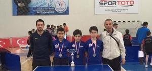 Yalova Bahçeşehir masa tenisinde bir şampiyonluk daha elde etti