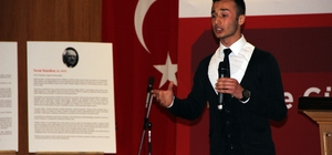Ümraniye'de şiir okuma yarışmasında dereceye girenler ödüllendirildi