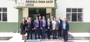 Alaplı Anadolu İmam Hatip Lisesine saha ziyareti