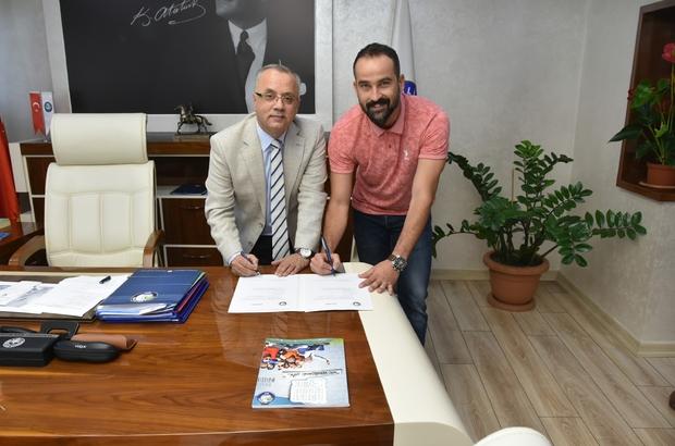 Salihli Belediyespor'da Bora Şensoy imzayı attı