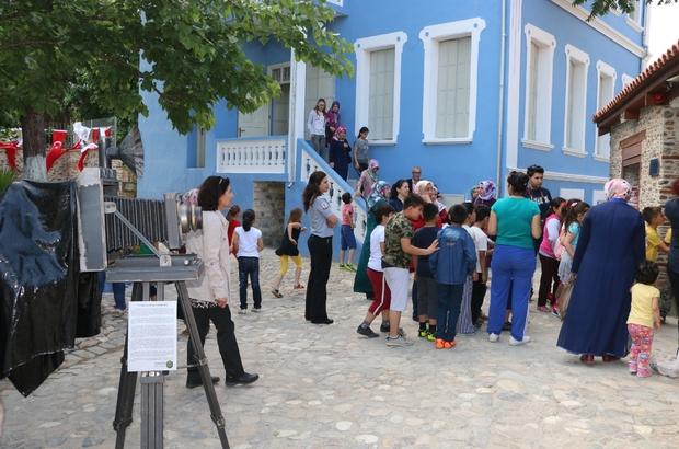 Turgutlu'nun Kent Müzesi'ne ziyaretçi akını