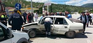 Reşadiye'de trafik kazası: 1 yaralı