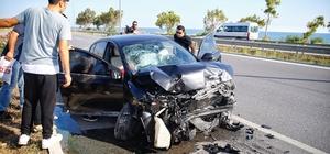 Bahçeli'nin konvoyunun geçişi sırasında kaza: 2 yaralı
