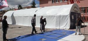 Sungurlu Belediyesi, iftar çadırı kuruyor