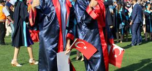 KSÜ'de mezuniyet töreni