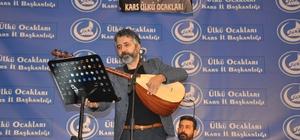 Ali Kınık ve Ahmet Şafak konseri yoğun ilgi gördü