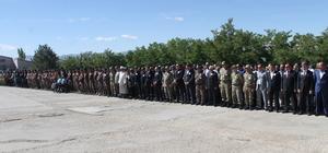 Şırnak'ta şehit  polis memuru için tören