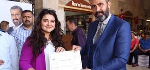 PAMEK kursiyerleri sertifikalarını aldı