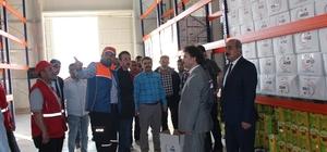 Çobanbey'de Suriye görev gücü yetkileri bir araya geldi