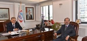 Turan ve Sarımsaklı Dayanışma Grubu Melikgazi Belediyesi'ni Ziyaret etti