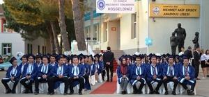 Mehmet Akif Ersoy Anadolu Lisesinde mezuniyet