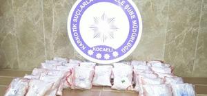 Kocaeli'de 34 kilo 500 gram eroin ele geçirildi
