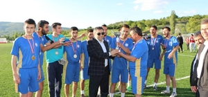 Pazarlar'da futbol turnuvası sona erdi