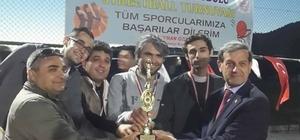 Simav'da Streetball turnuvası