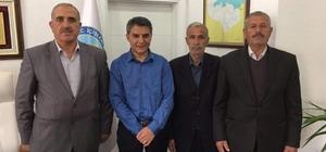 Gazilerden Kaymakam Özkan'a teşekkür ziyareti