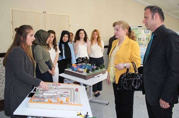 Bartın Üniversitesi genç mühendislerinden proje sergisi