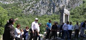 Büyük İskender'in alamadığı Termessos turistleri bekliyor