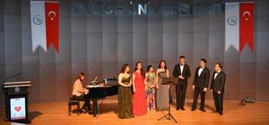 Düzce Üniversitesi'nden Kalpten Şarkılar konseri